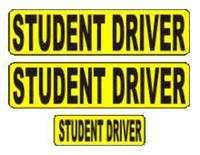 Student Driver Magnetic Car Sign Kit