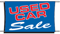 Used Car Sale Banner - 3 x 5 Slogan