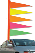 Antenna Pennants - Flag Pennants - TT2