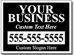 Bandit Sign Design BAN04 - One Click Kit - Business Yard Sign