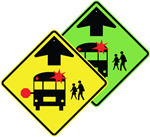 Bus Stop Warning Sign 30 x 30