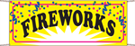 Fireworks Banner - Confetti Style
