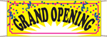 Grand Opening Banner - Confetti Style