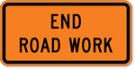 End Road Work 36 x18