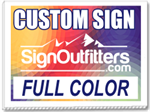 Custom 24x18 Yard Sign - Full Color