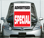 Under The Hood Single Sign - Advertised Special
