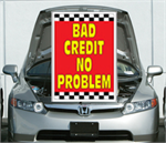 Under The Hood Single Sign - Bad Credit No Problem