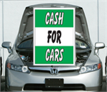 Under The Hood Single Sign - Cash For Cars