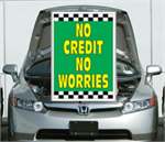 Under The Hood Single Sign - No Credit No Worries