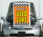 Orange  Under The Hood Single Sign - Qualtiy Used Cars