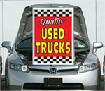 Under The Hood Single Sign - Quality Used Trucks