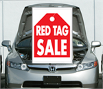 Under The Hood Single Sign - Red Tag Sale