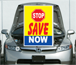 Under The Hood Single Sign - Stop Save Now