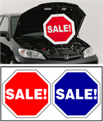 Under The Hood Twisting Sign - Sale / Sale