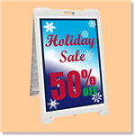 Econo Classic Sign - Holiday Sale