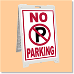 Econo Classic Sign - No Parking