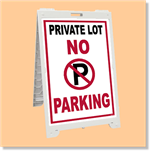 Econo Classic Sign - No Parking Private Lot