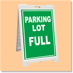 Econo Classic Sign - Parking Lot Full