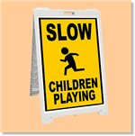 Econo Classic Sign - Slow Children Playing