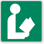 Library Symbol Sign 24 x 24