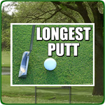Longest Putt - Golf Outing Signs