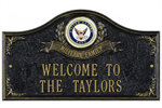 Navy Address Plaque - Military Family - 2 Lines