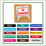 ZQuick Sign - No Parking