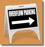 ZQuick Sign - Overflow Parking