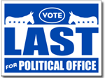Style P120 Political Sign Design