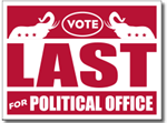 Style P121 Political Sign Design