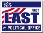 Style P221 Political Sign Design
