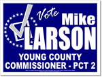 Political Signs with Stands - Check mark design P71