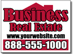Custom Real Estate Yard Sign Design RE06 - One Click Kit - Realty Design