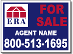 ERA Real Estate Yard Sign Design