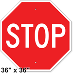 Stop Sign 36 x 36
