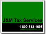 Tax Yard Sign Design TAX06 - One Click Kit