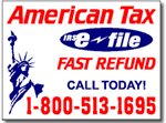 Tax Yard Sign Design TAX09 - One Click Kit
