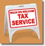 ZQuick Sign - Walk-Ins Welcome Tax Service