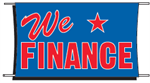 We Finance Banner - 3 x 5 Slogan