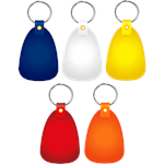 Promotional Continental Key Tag with Five Bright Colors